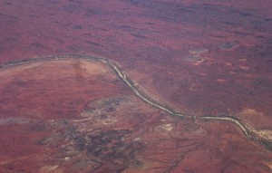 The Red Centre (aerial view)