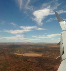 Red Centre turning green