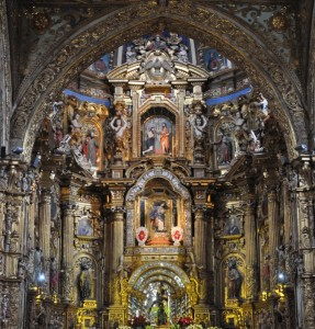 Altar, Iglesia San Francisco