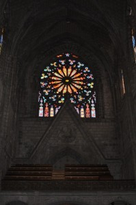 Stained glass, La Basilica