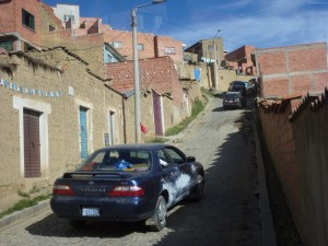 Frantic drive back to La Paz on 25/2