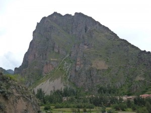 Mountain with an Inka face