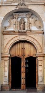 Door, Iglesia San Francisco