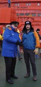Alex, Expedition leader (R) & Captain (L)