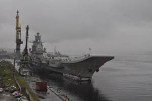 A grey day at Murmansk