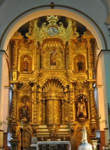 Gold Altar, Iglesia San Jose