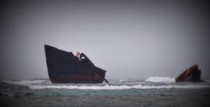 Ship wreck close to Cocpanderia