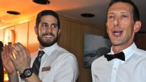 Bartender Adam (L) & Michael (R)