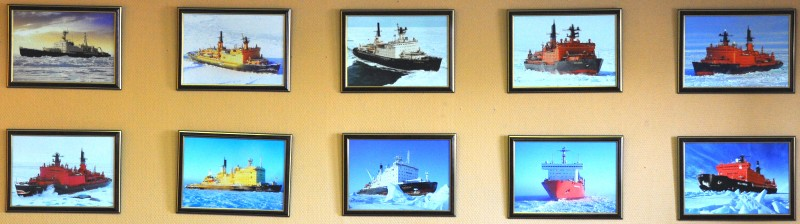 Russia's 8 nuclear-powered icebreakers
