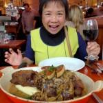 An enormous dinner!