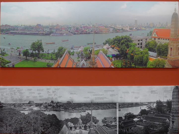 Bangkok in 1865-66 & Bangkok today