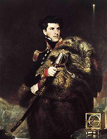 Portrait of Sir James Clark Ross by John R. Wildman