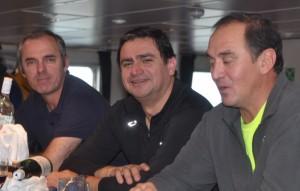 Three Chilean pilots