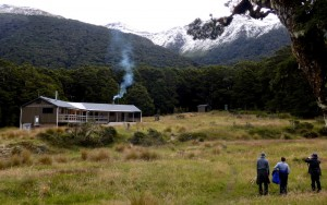 Refuge run by NZ Department of Conservation