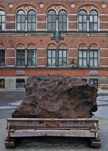 Meteorite from Greenland, Geology Museum
