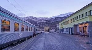 My train to Abisko, Sweden