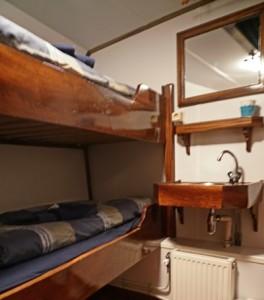 A standard cabin- basic but comfortable