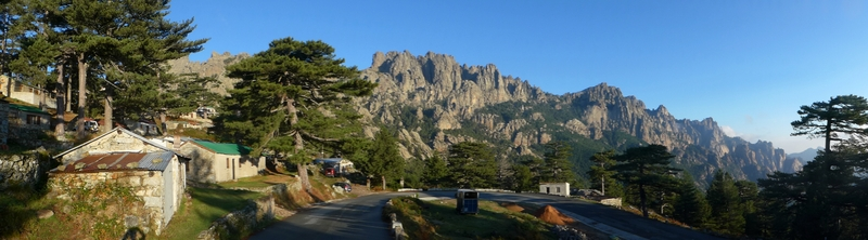 Bavella with stunning Aiguilles - I have completed the 11-day hike without mishap!