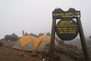 Ready to leave Barafu Camp!