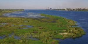 Crossing the Nile to Edfu