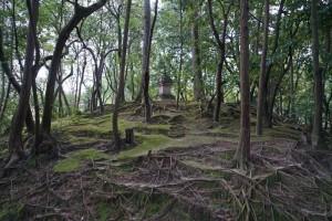 Grave of Ganjin, Toshodai-ji, Nara
