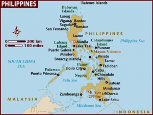 Phil map