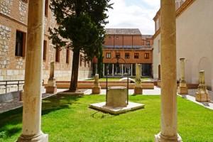 Garden outside the Chapel